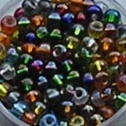 PRACHT Rocailles. Zilverkern Mix AB. 4,5mm. Mooi tussenkraaltje. ca. 17 gram voor