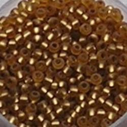 PRACHT Rocailles. Zilverkern. Topaas/Mat. 2.6mm. +/- 17 gram voor