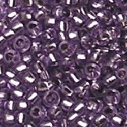 PRACHT Rocailles met zilverkern Lila. 2.6mm. Hoge kwaliteit ca. 17 gram voor