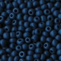 PRACHT Rocailles Opaque Blauw. 2.6mm. Hoge kwaliteit ca. 17 gram voor