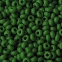 PRACHT Rocailles Opaque Grasgroen. 2.6mm. Hoge kwaliteit ca. 17 gram voor