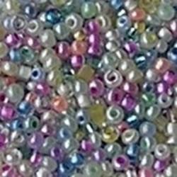 PRACHT Rocaillesmix. 2.6mm. Hoge kwaliteit ca. 17 gram Pastelcolors voor