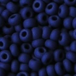 PRACHT Rocailles Mat Opaque Koningsblauw. 2.6mm. Hoge kwaliteit ca. 17 gram voor