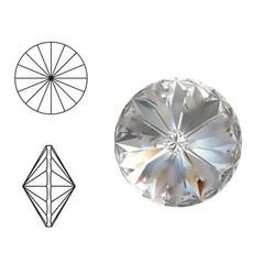 SWAROVSKI ELEMENTS Swarovski Rivoli steen (punt). SS39. 8mm. Crystal.