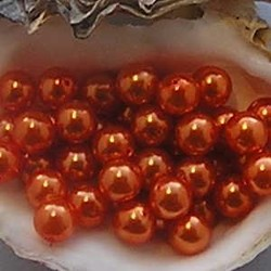 Glasparel. Orange. 10mm.