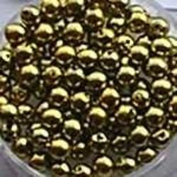 Glasparel. Lime Geel. 4mm. 100 stuks voor