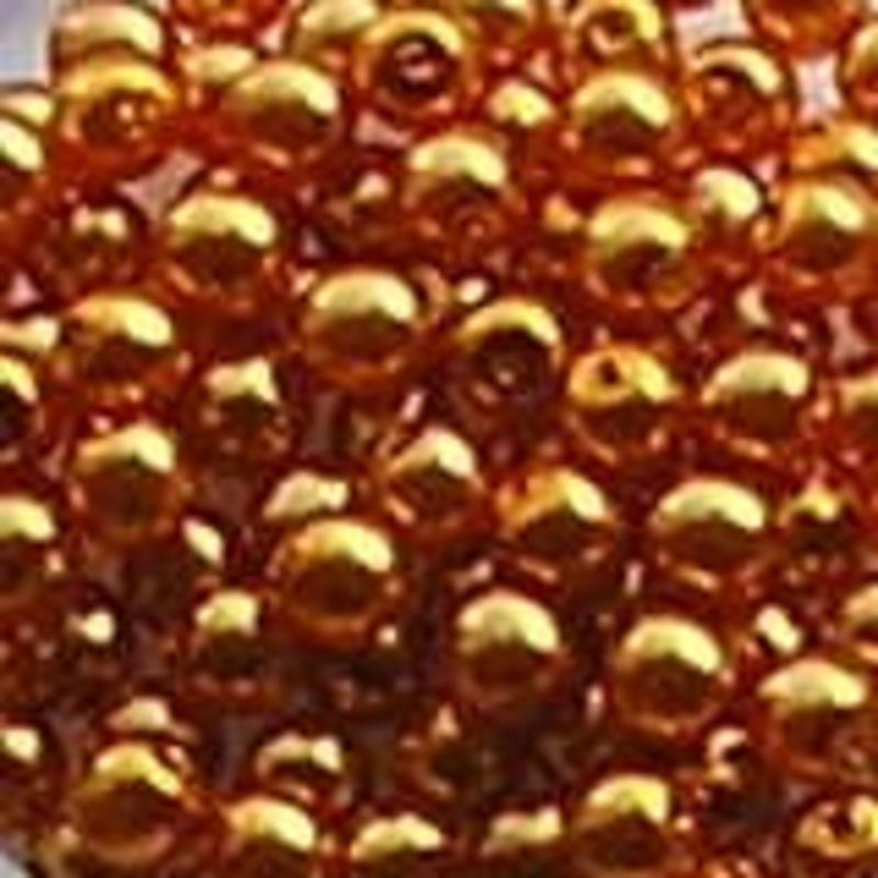 Glasparel. Light Orange. 4mm. 100 stuks voor