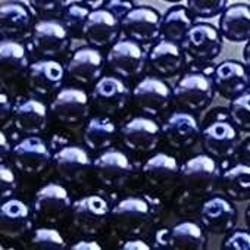 Glasparel. Lila. 4mm. 100 stuks voor