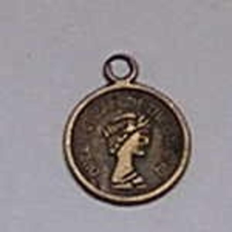 Bedel. Coin. 14x18mm. Bronze.