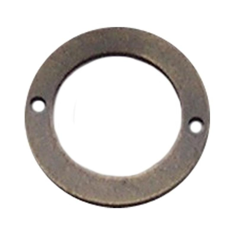 Bronskleurig Brass. Platte ring. 2- Gaats 38mm.