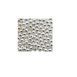 Glasparel. Wit. 3mm. 120 stuks voor