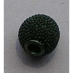 Kasmiri Bead. 12mm. Groen.