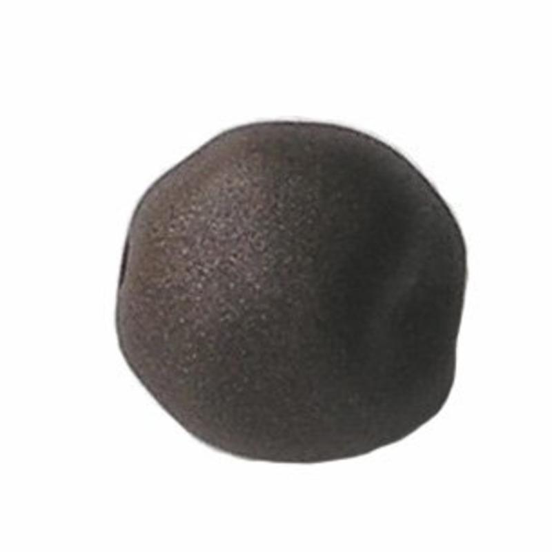 Designers kwaliteit Resinkraal. 18 mm.  Cacao Mat zijdeglans.