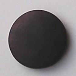 Resinkraal Schijf. 37mm. Mat Bruin.