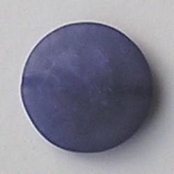 Resinkraal Schijf. 37mm. Blauw.