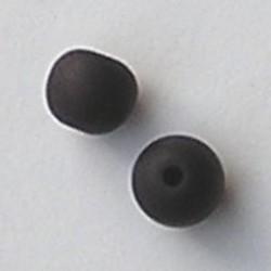 Resinkraal Rond. 10mm. Mat Bruin.
