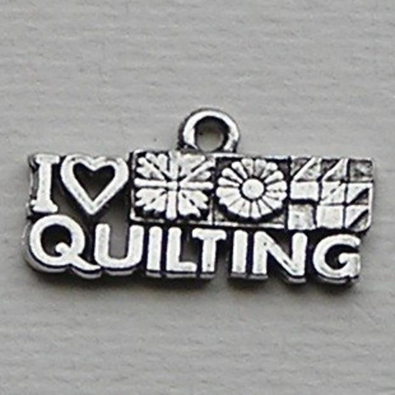 Bedel I Love Quilting. 7x22mm.