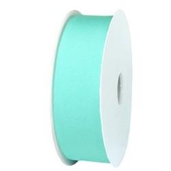 Ibiza Lint elastisch. 30mm. Turquoise. Per 0.50 meter voor.
