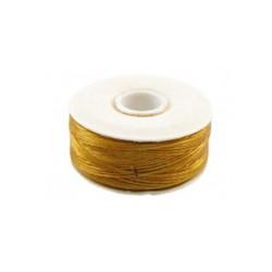 Nymo Draad. Golden Yellow. Dikte D. x 73mtr. Spoeltje