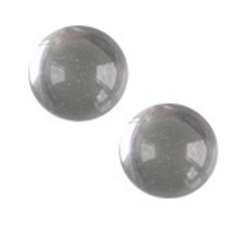Cabochon. Crystal. Glas. Rond. 8mm.
