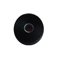 Superlon Draad. Zwart. Dikte D. 0.25. Spoeltje 73 meter