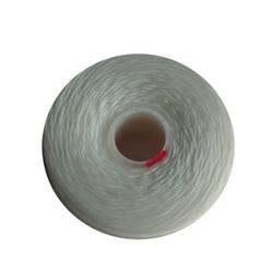 Superlon Draad. Wit. Dikte D. 0.25. Spoeltje 73 meter