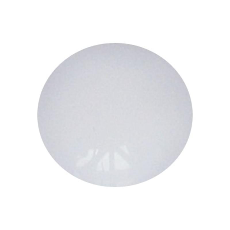 Cabochon. White Opal. Glas. Rond. 10mm.