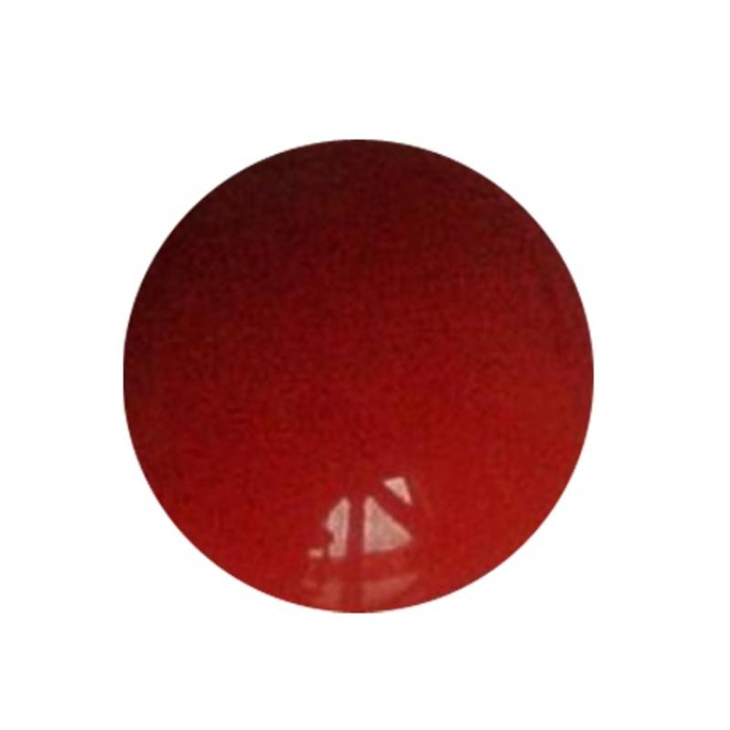 Cabochon. Coral Opaque. Glas. Rond. 10mm.