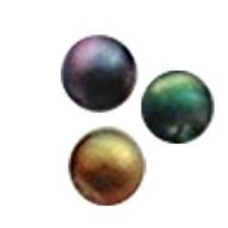 Glaskraal. 8mm. Miracle Bead. Multicolor.