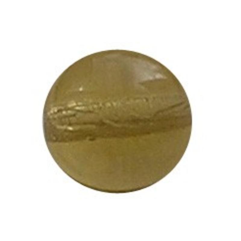 Glasperle 8mm Honig gelb Transparent 100 Stück