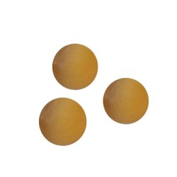 Glass bead. 8mm. Cateye. Ocher yellow. A quality. 4 pieces for