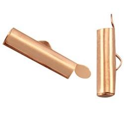 Endkappe 6x15.5mm. Rosafarbenen Schmuck und Accessoires