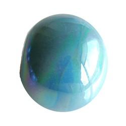 Keramikperlen. 24mm. Blue Rainbow. großes Loch