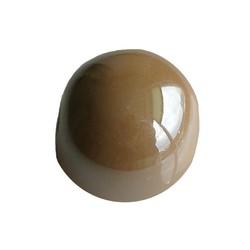 Keramikperlen. 24mm. Light Beige. großes Loch