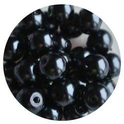 Glasparel anthrazit 8 mm 100 Stück