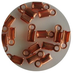 Lace Chuck Klein. 4x9mm. Coppery.