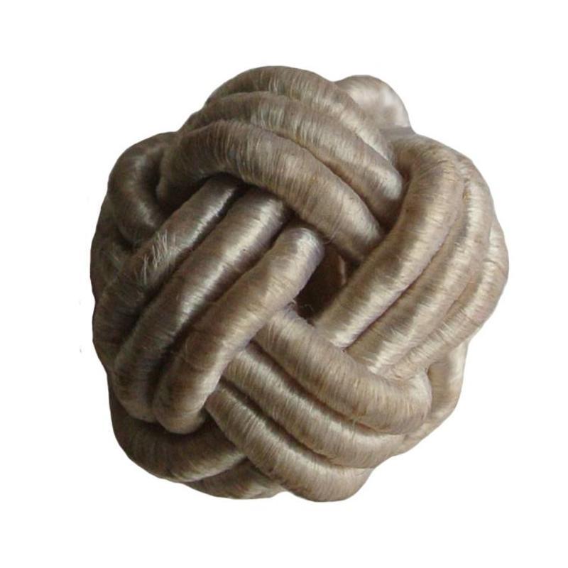 Chinesischen Knoten Raupe Sand Satin Cord 18mm
