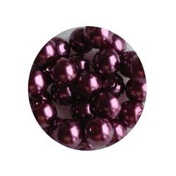 Glasparel paars 6mm 100 stuks