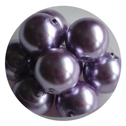 Glass Pearl 12mm Lilac