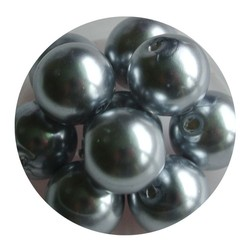 Glass Bead 12mm Light