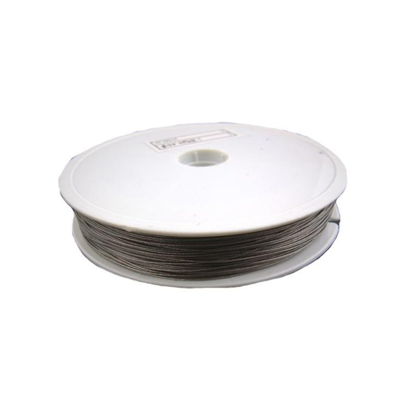 Beschichteter Draht. 0,45mm. 50m Silber online auf der Bead Box