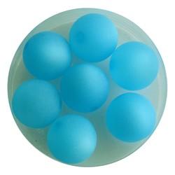 Polaris Perle 12mm blauen Matte. Around.