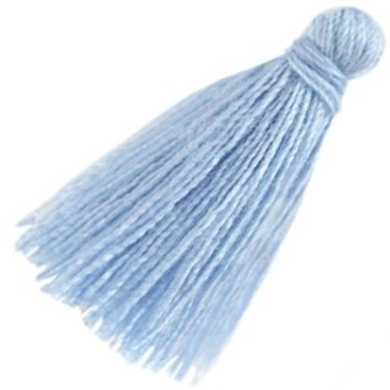 Brush. 30mm Länge Light Sapphire
