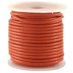 Leerveter 2mm dik Soepele kwaliteit Orange per meter