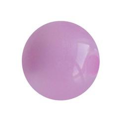 Polaris Bead Shiny Pink 14mm Round