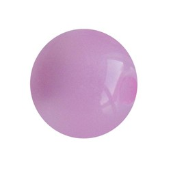 Polariskraal Roze Shiny 20mm Rond