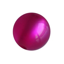 Polariskraal Fuchsia Shiny 10mm Rond