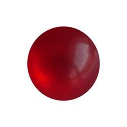 Polaris Perle 10mm hell rote glänzende Runde
