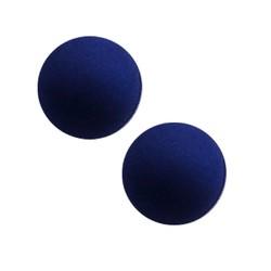 Polariskraal mat 14mm donkerblauw