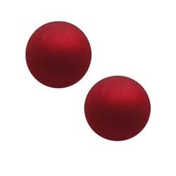 Polaris Perle 14mm leuchtend roten Matte